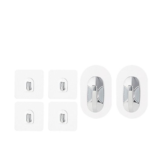 Solutions Set of 6 Reuseable Magic Hooks