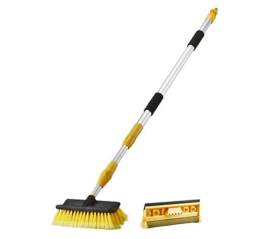 Work Expert 2-in-1 Telescopic Hose Brush Set