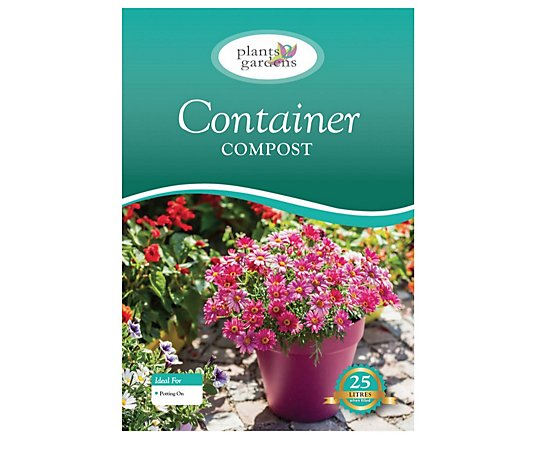 Plants2Gardens 2 x 25 Litre Potting and Container Compost