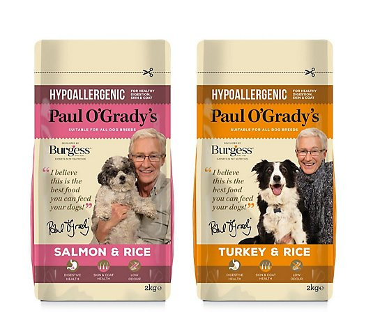 Paul O'Grady Hypoallergenic Dog Food 2kg Duo Pack