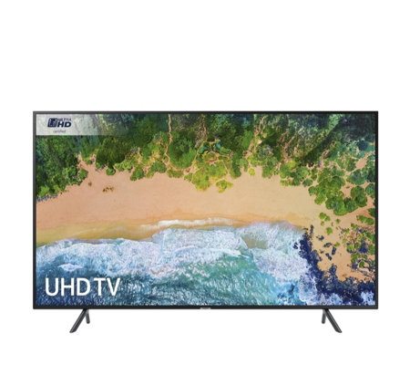 "Samsung UE55NU7100 Smart Ultra HD HDR 10+ 4K 55"" TV"