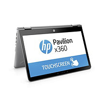 "HP Pavilion X360 14"" HD Laptop With Touchscreen, Intel Core i5,  & 128GB SSD - 512613"
