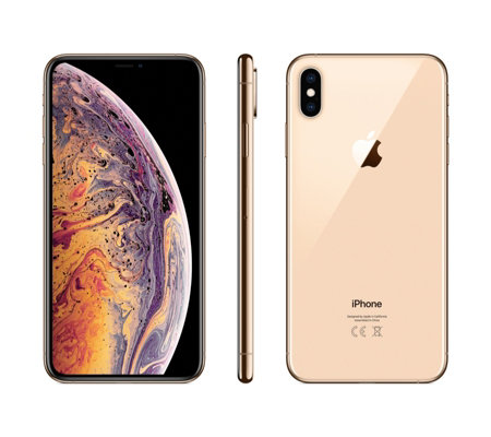 Apple iPhone XS with Clear Case & 2 Year Tech Support