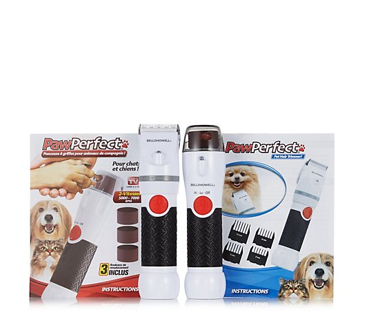 Bell & Howell Paw Perfect and Trimmer Grooming Set
