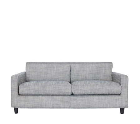 Habitat Chester 3 Seater Black and White Sofa