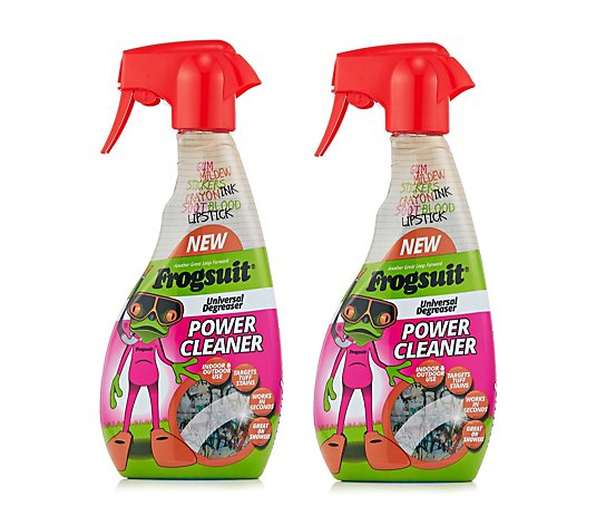 Frogsuit Indoor & Outdoor Power Cleaner 500ml x2