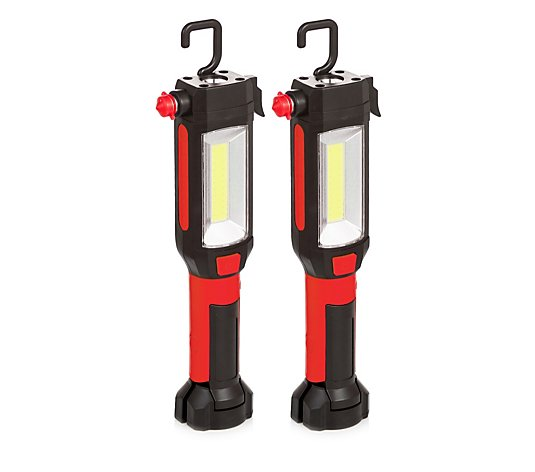 Securebrite Set of 2 4 in 1 Auto Emergency Tools with LED Light