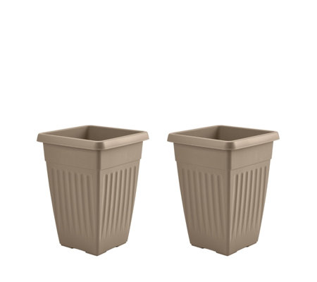 Jennings Set of 2 Tall Planters