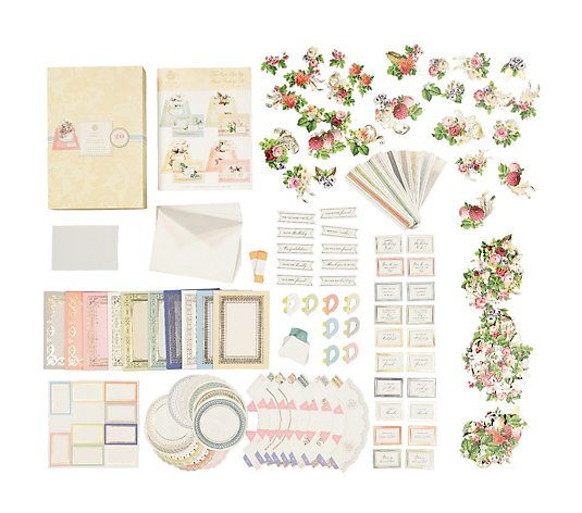 Anna Griffin Set of 20 Tea Cup Pop Up Card Kit