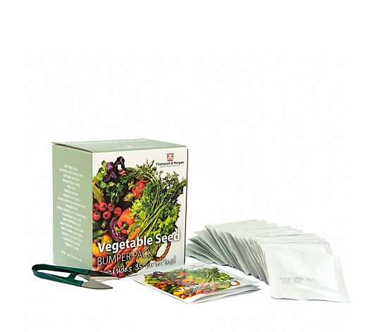 Thompson & Morgan 35x Vegetable Seed packs + 1x Free Pair of Snips