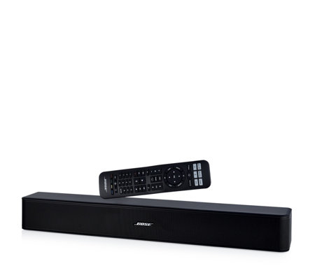 Bose Sound System >> Bose Solo 5 Tv Sound System With Bluetooth Connectivity Qvc Uk