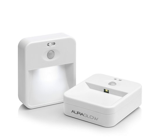 Auraglow Two Way Communicating Sensor Lights Twin Pack