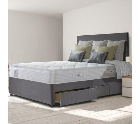 Sealy ActivSleep Comfort Memory 1800 Pocket Mattress & Divan