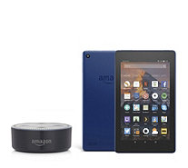 Amazon Echo Dot & Fire 7 16GB Tablet with Alexa & 32GB SD Card - 517528