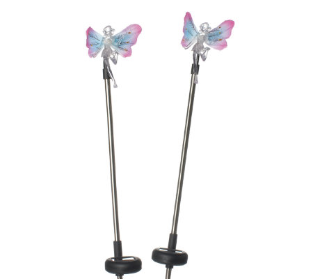 newest 07e10 6f29c Solar Charged Stainless Steel Colour Changing Fairy Light - QVC UK