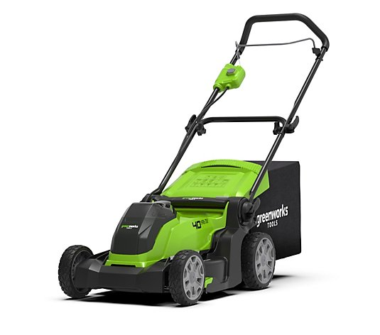 Greenworks 40V 41cm Cordless Lawn Mower with 2.0Ah Battery