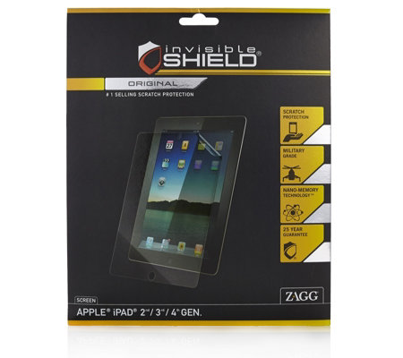 Invisible Shield Original Screen Protector w/ Nano Technology for Tablets