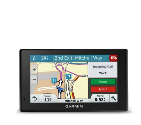Garmin Sat Nav & Built-In Dash Cam with EU Lifetime Maps & Digital Traffic