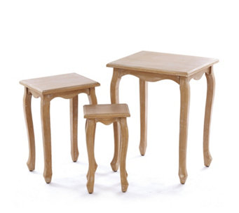 Alison Cork Troussay French Style Set of 3 Nesting Tables - 508634