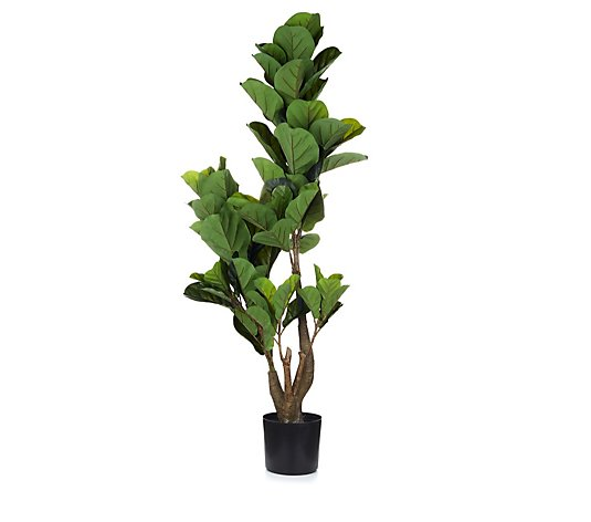 Garden Reflections Indoor/Outdoor Faux Fig Plant
