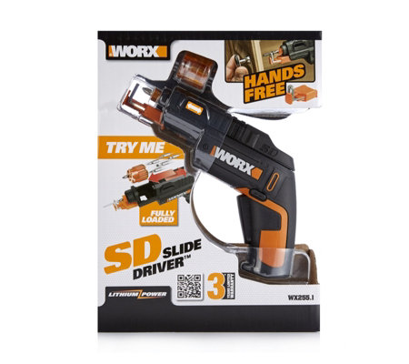 Worx Cordless Slide Driver with Screw Holder