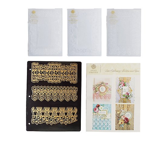 Anna Griffin Lace Border Embossing Folders & Dies