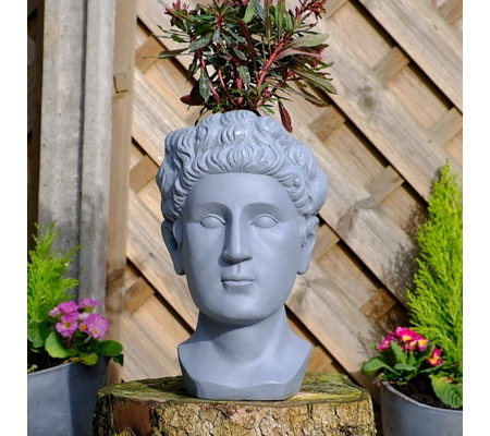 Jennings Roman Head Planter
