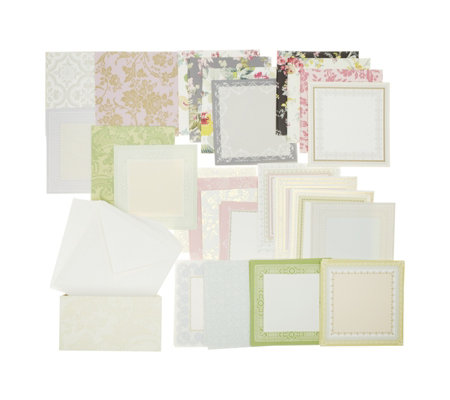 Anna Griffin 6x6 Perfect Pattern Cards with Envelopes