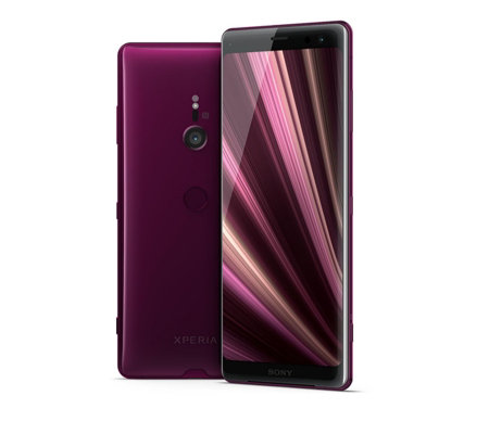 Sony Xperia XZ3 with Case & Tempered Glass Screen Protector