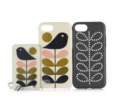 Orla Kiely iPhone 7 Case & Power Pack Bundle