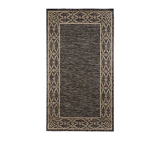 Home Reflections Florence Border Indoor & Outdoor Rug