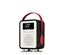 Lulu Guinness Retro Mini DAB/FM Radio & Bluetooth Speaker - 508647