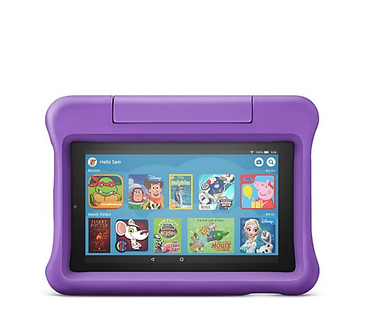Amazon Fire 7 Kids Edition 16GB Tablet with Kid Proof Case