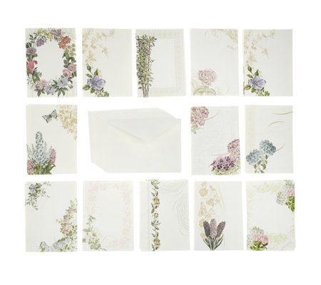 Anna Griffin Pack of 48 Trelliage Cards and Envelopes