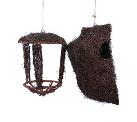 Wildlife World Simon King Open Nest Buddy & Tree Nest Pouch