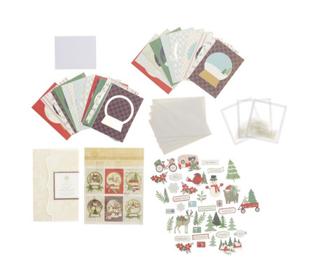 Anna Griffin Snowglobe Christmas Card Kit