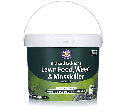 Richard Jackson 5kg Feed Weed & Moss Lawn Treatment