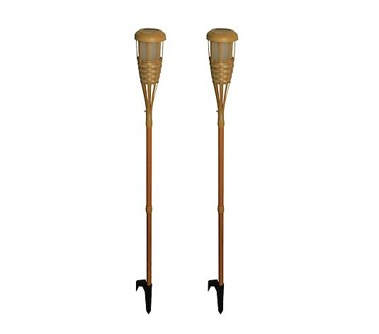Luxform Set of 2 Tiki Torches