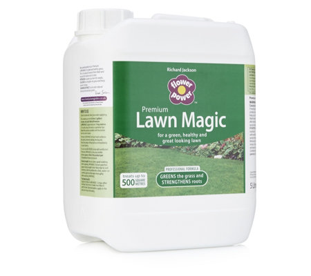 Richard Jackson's Lawn Magic 5 Litre Grass Feed