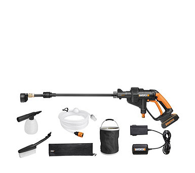 Worx 20v Hydroshot Cordless Pressure Washer with Accessories - 514257
