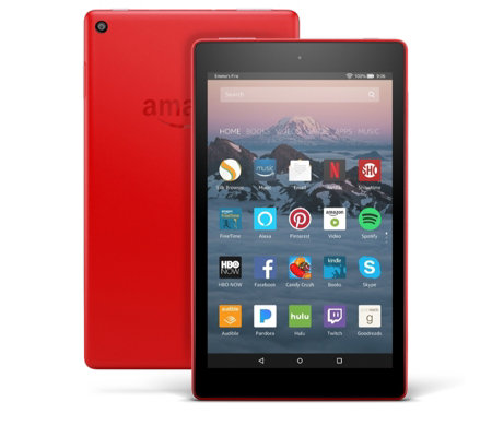 "Amazon Fire HD 8"" 32GB Tablet with Case Voucher"