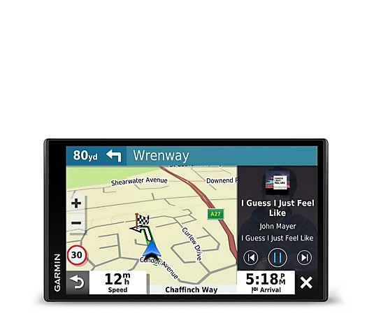 Garmin DriveSmart 65 Sat Nav EU Lifetime Maps Digital Traffic Updates w/Alexa