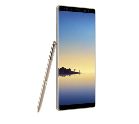 "Samsung Galaxy Note 8 6.2"" 64GB Smartphone with Case"