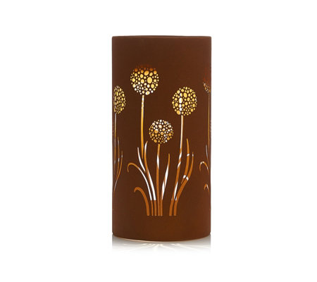 Luxform Rust Effect Allium Solar Light