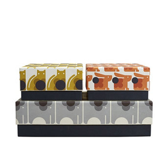 Orla Kiely Set of 3 Storage Boxes - 510561