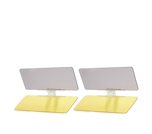 Vizclear Day Night Car Visor Set of 2