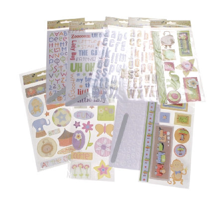 Nana's Kids' Stickers, Rub-Ons & Adhesive Pop Ups - QVC UK