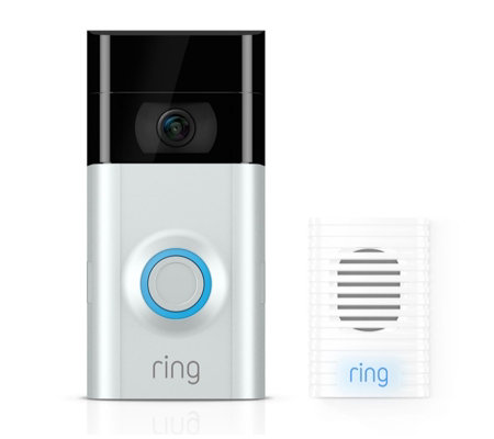 Extra Rechargeable Battery Chime Ring Video Doorbell 2