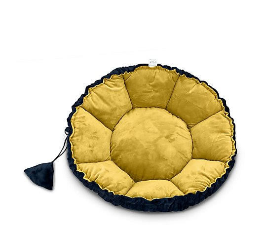 Cozee Paws Round Fold Down Pet Bed