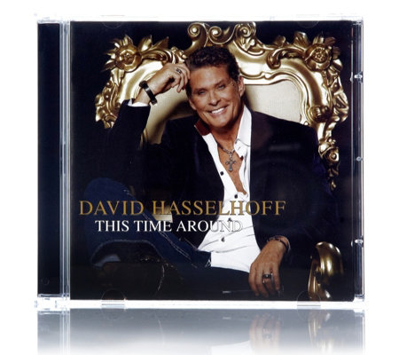 David Hasselhoff This Time Around CD Album With Signed Photo